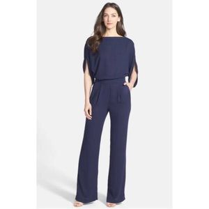 Diane Von Furstenberg Lucy Navy Blue Jumpsuit